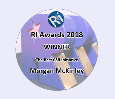 Best CSR Initiative Recruitment International UK, 2018