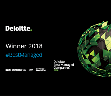 Best Managed Companies, Platinum Award Deloitte Best Managed Companies, 2018