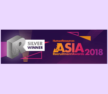 Best Candidate Experience Asia Recruitment Awards, 2018