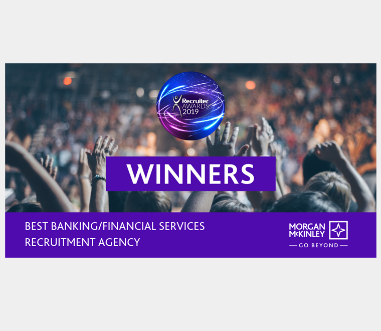 Best Banking/Financial Services Recruitment Agency 2019, Recruiter Awards UK