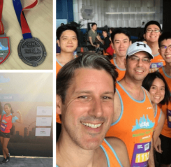 APAC COO, Andy Evans, completes fundraising challenge