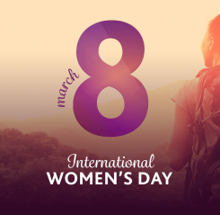 UK team challenge for International Women's Day 2018