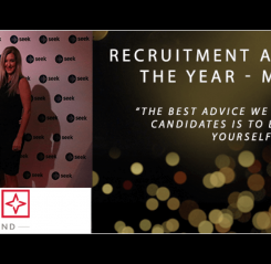 Morgan McKinley wins Medium Recruitment Agency of the Year at the SEEK Annual Recruitment Awards 2015