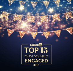 We've been voted socially engaged, again!