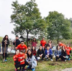 Tree Planting in Shanghai
