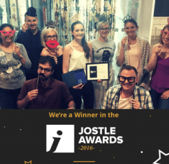 winner in the jostle awards