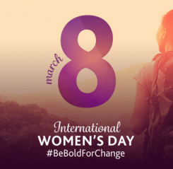 #BeBoldForChange International Women's Day 2017