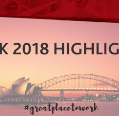 2018 Highlights at Morgan McKinley Sydney