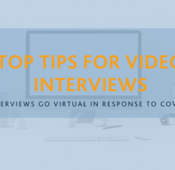 Interviews go Virtual in response to Covid19
