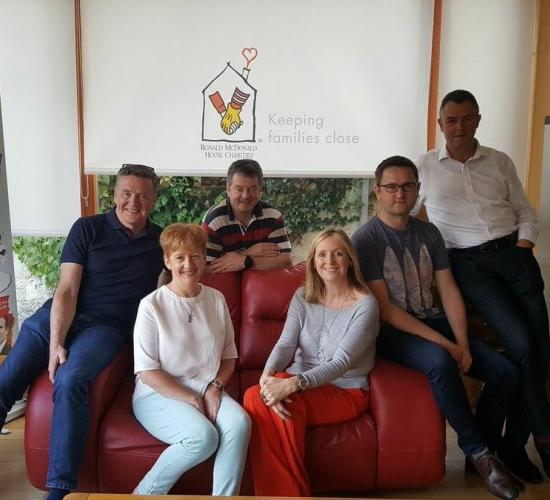 Board at ronald mcdonald house ireland
