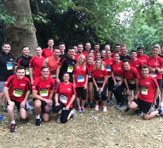 London JP Morgan corporate challenge weds 4th July 2